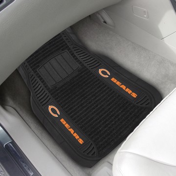 Picture of NFL - Chicago Bears Deluxe Car Mat Set