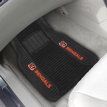 Picture of NFL - Cincinnati Bengals Deluxe Car Mat Set