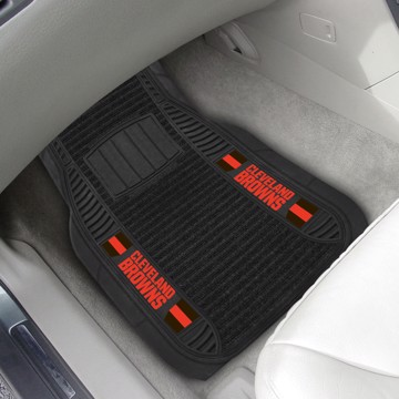 Picture of NFL - Cleveland Browns Deluxe Car Mat Set