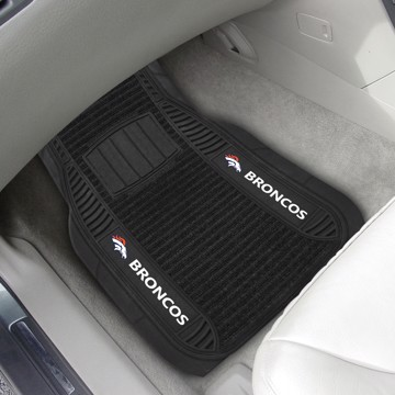 Picture of NFL - Denver Broncos Deluxe Car Mat Set