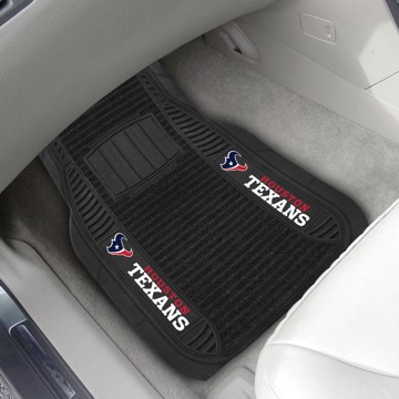 Picture of NFL - Houston Texans Deluxe Car Mat Set