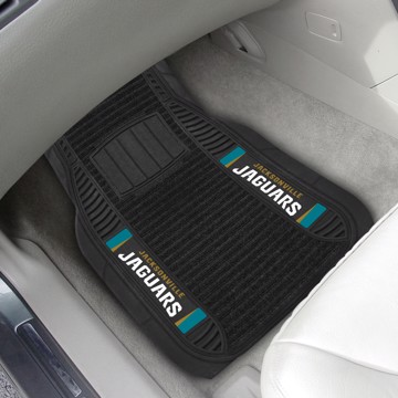 Picture of NFL - Jacksonville Jaguars Deluxe Car Mat Set