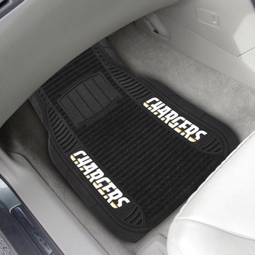 Picture of NFL - Los Angeles Chargers Deluxe Car Mat Set