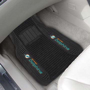 Picture of NFL - Miami Dolphins Deluxe Car Mat Set