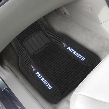 Picture of NFL - New England Patriots Deluxe Car Mat Set