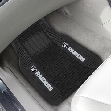 Picture of NFL - Oakland Raiders Deluxe Car Mat Set