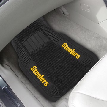 Picture of NFL - Pittsburgh Steelers Deluxe Car Mat Set