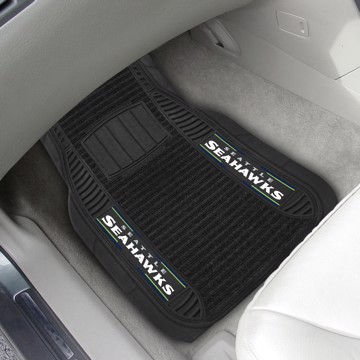 Picture of NFL - Seattle Seahawks Deluxe Car Mat Set