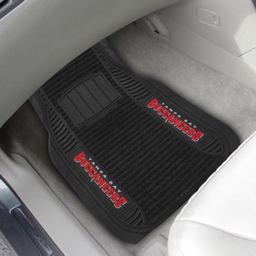 Picture of NFL - Tampa Bay Buccaneers Deluxe Car Mat Set
