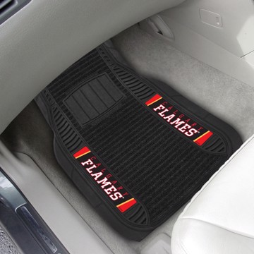 Picture of NHL - Calgary Flames Deluxe Car Mat Set