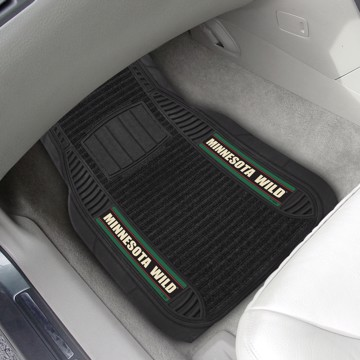 Picture of NHL - Minnesota Wild Deluxe Car Mat Set