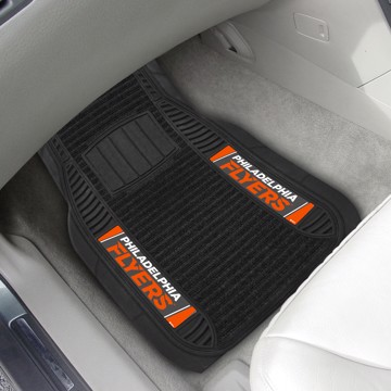 Picture of NHL - Philadelphia Flyers Deluxe Car Mat Set