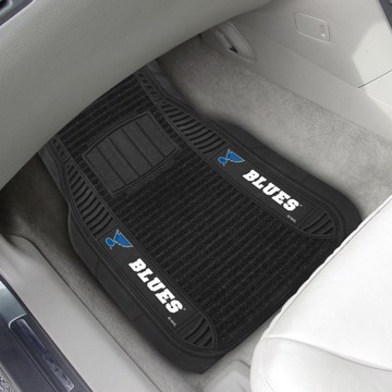 Picture of NHL - St. Louis Blues Deluxe Car Mat Set