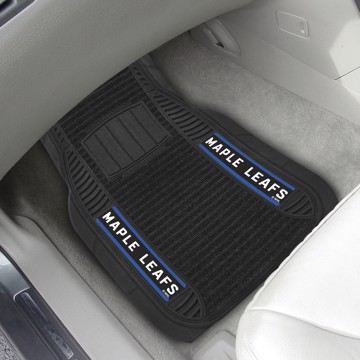 Picture of NHL - Toronto Maple Leafs Deluxe Car Mat Set