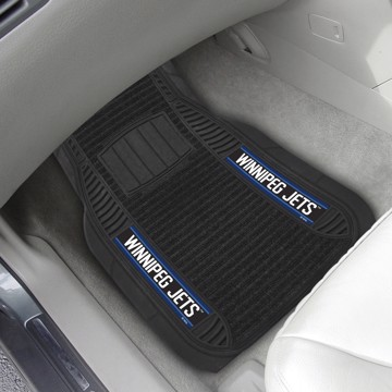 Picture of NHL - Winnipeg Jets Deluxe Car Mat Set