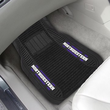 Picture of Northwestern Deluxe Car Mat Set