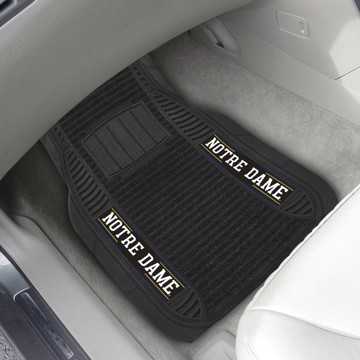 Picture of Notre Dame Deluxe Car Mat Set