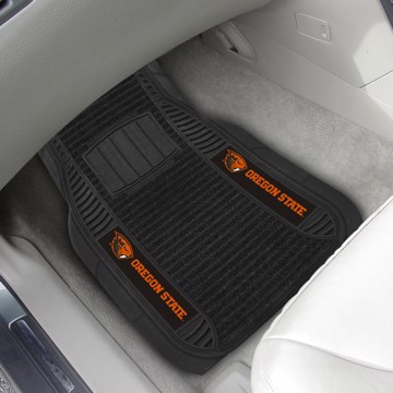 Picture of Oregon State Deluxe Car Mat Set