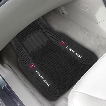 Picture of Texas A&M Deluxe Car Mat Set