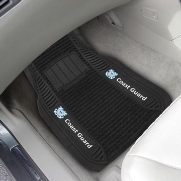 Picture of U.S. Coast Guard Deluxe Car Mat Set