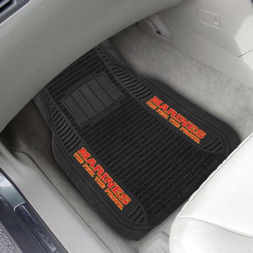 Picture of U.S. Marines Deluxe Car Mat Set