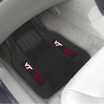 Picture of Virginia Tech Deluxe Car Mat Set