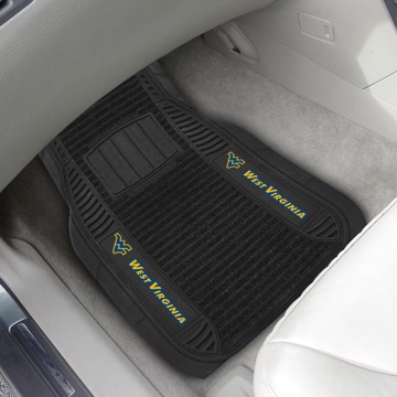Picture of West Virginia Deluxe Car Mat Set