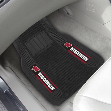 Picture of Wisconsin Deluxe Car Mat Set