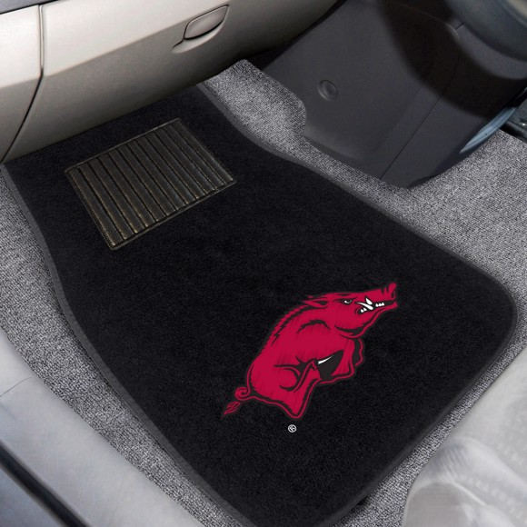 Picture of Arkansas Embroidered Car Mat Set