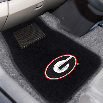 Picture of Georgia (UGA) 2-Piece Embroidered Car Mat Set
