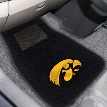 Picture of Iowa Embroidered Car Mat Set