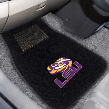 Picture of LSU Embroidered Car Mat Set
