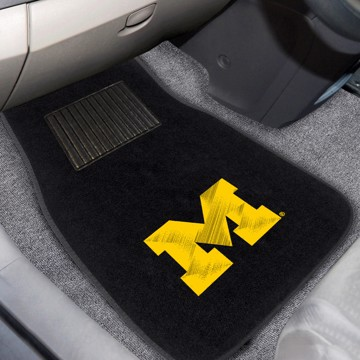 Picture of Michigan Embroidered Car Mat Set