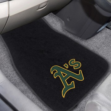 Picture of MLB - Oakland Athletics Embroidered Car Mat Set