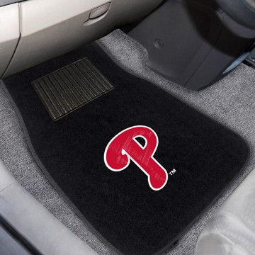 Picture of MLB - Philadelphia Phillies Embroidered Car Mat Set