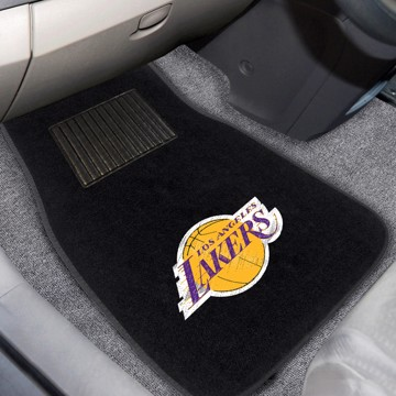 Picture of NBA - Los Angeles Lakers Embroidered Car Mat Set