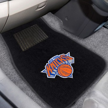 Picture of NBA - New York Knicks Embroidered Car Mat Set