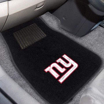 Picture of NFL - New York Giants Embroidered Car Mat Set