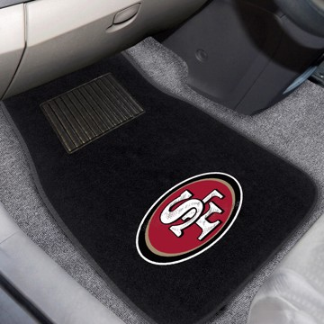 Picture of NFL - San Francisco 49ers Embroidered Car Mat Set