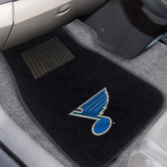 Picture of NHL - St. Louis Blues Embroidered Car Mat Set