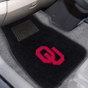 Picture of Oklahoma Embroidered Car Mat Set