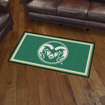 Picture of Colorado State 3'x5' Plush Rug