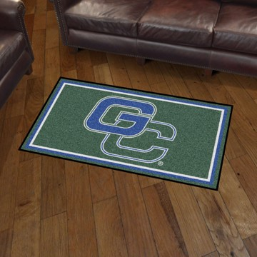 Picture of Georgia College 3'x5' Plush Rug