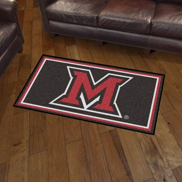 Picture of Miami (OH) 3'x5' Plush Rug