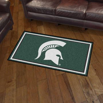 Picture of Michigan State 3'x5' Plush Rug
