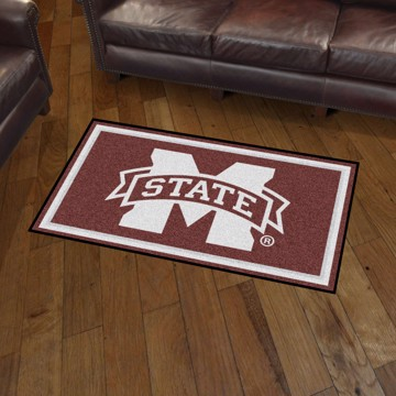 Picture of Mississippi State 3'x5' Plush Rug