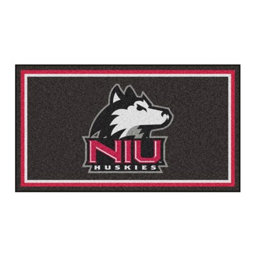 Picture of Northern Illinois 3'x5' Plush Rug