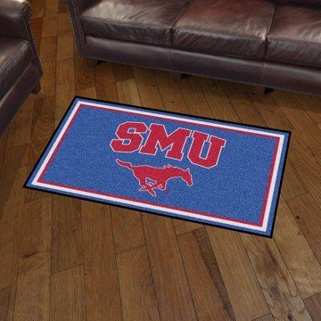 Picture of SMU 3'x5' Plush Rug
