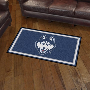Picture of Connecticut (UCONN) 3'x5' Plush Rug