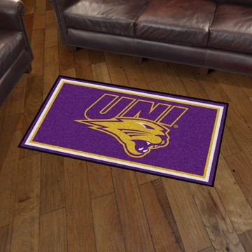 Picture of Northern Iowa 3'x5' Plush Rug